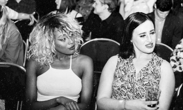 Radio DJ Stormy J sat next to Generation W's Mandy Jones at the Generation W x London launch party