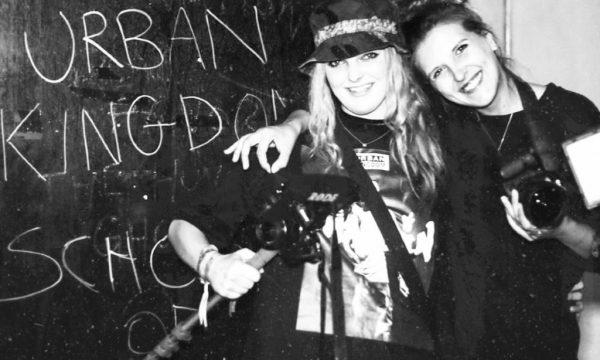 Generation W's Rosie Eliza and Jess Daly at an Urban Kingdom show in Bristol, 2017