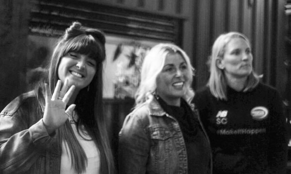 Generation W's Lois McClure, Simone Roche and Stacey Copeland at Generation W x Manchester