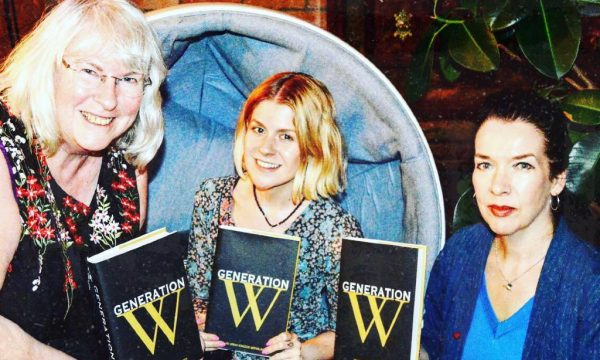 Generation W's Joy France alongside two Liverpool based poets