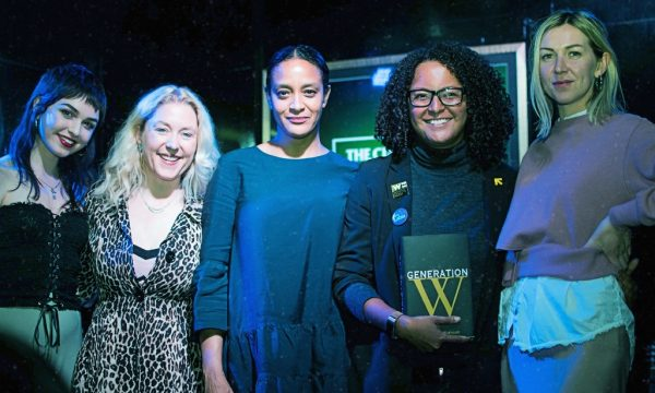 Generation W collaborators and London event readers Left to right: Jess Leo, Anna Smith, Mia Farrell,  Mandu Reid, Phie McKenzie